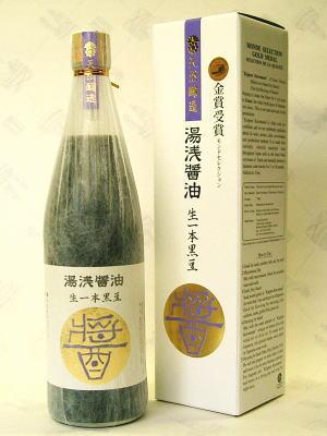 유아사 간장 탄바 검은콩 사용 곧은 마음 검은콩 720 ml [환 신 28872]