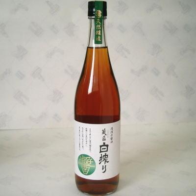 蔵匠 国内在庫 白搾り 期間限定で特別価格 720ml 湯浅醤油 丸新48072