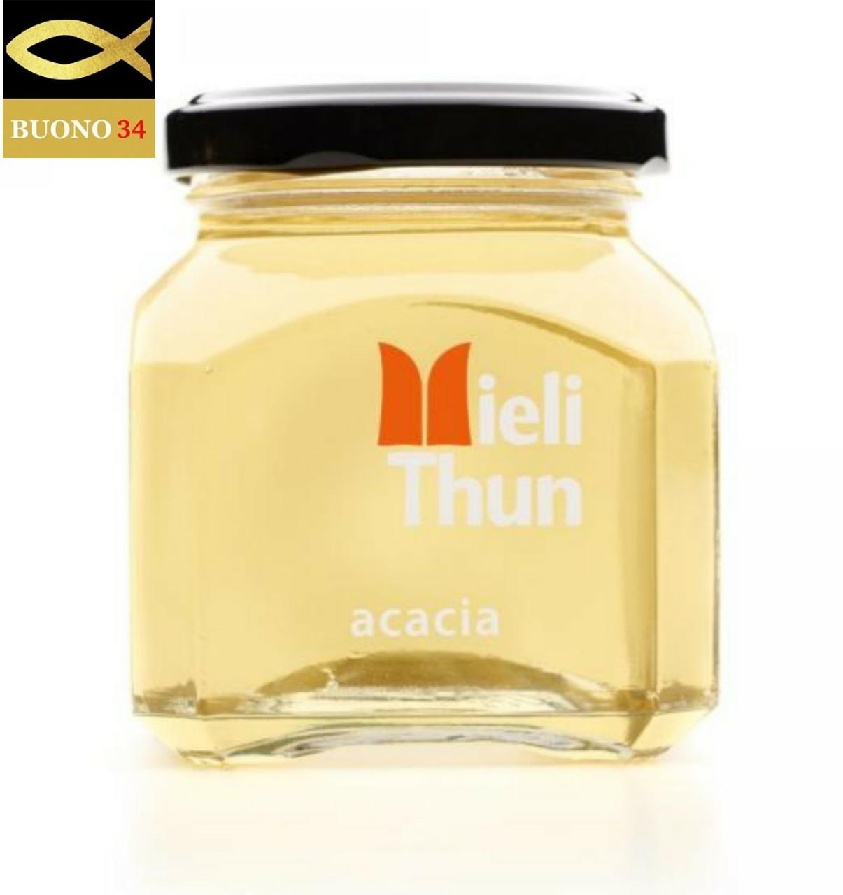 チーズと合わせたり紅茶にも 優しい甘さがお口に広がります アカシアのハチミツ 250g ミエーレチュン イタリア 優しい味の蜂蜜 Mieli thun トレント州 日本全国 買物 送料無料