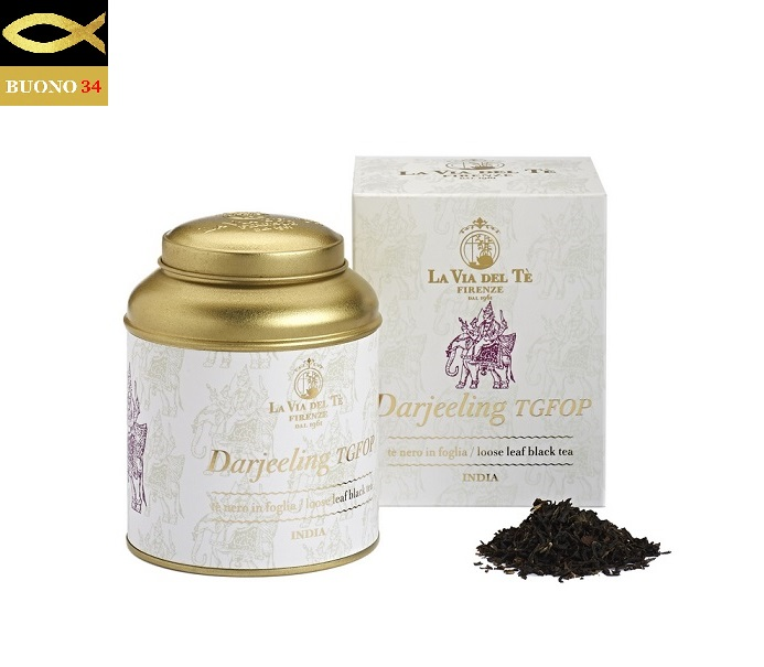 LA VIA DEL 休み TE ラ ヴィア デル ITALY 100g缶入り 紅茶LA Firenzeフィレンツェ ダージリン 店舗 テ