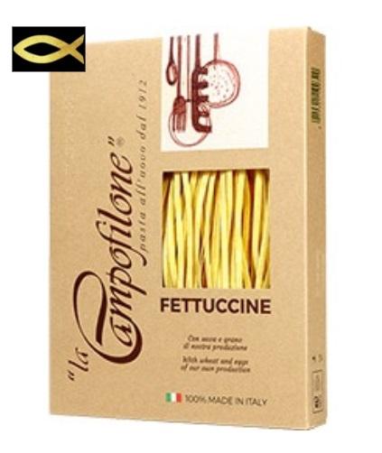 定番キャンバス カンポフィローネの卵入りパスタ フェットチーネ -FETTUCCINE- 250g 国産品