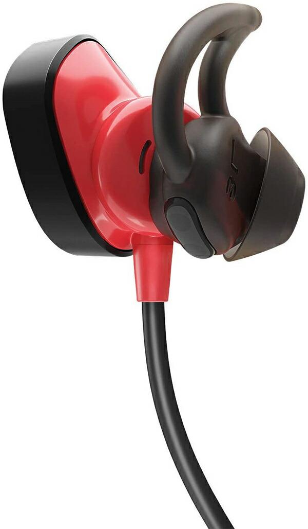 ボーズ サウンドスポーツ パルス 7625180010 Bose SoundSport Pulse Wireless Headphones, Power Red イヤホン パワーレッド [並行輸入品]