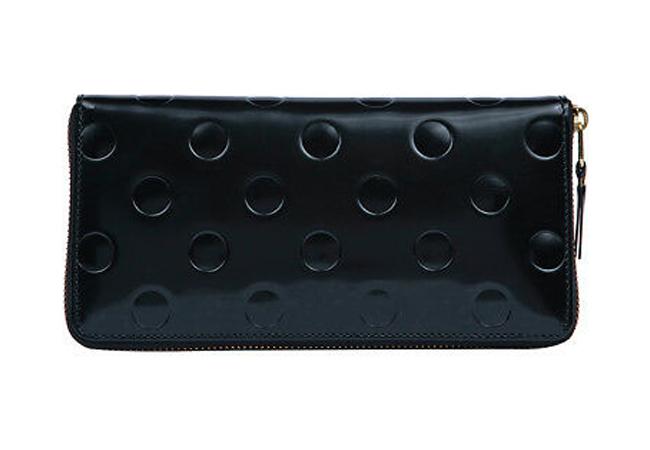 【送料無料】 Comme des Garcons Dots Embossed Long Wallet コムデギャルソン 財布 SA0110NE
