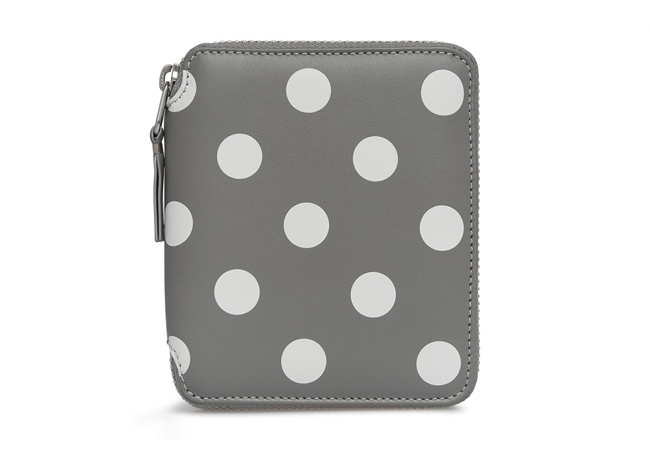 Comme des Garcons Dots Printed Full Zip Wallet コムデギャルソン 財布 SA2100PD