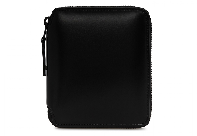 【送料無料】 Comme des Garcons Very Black Full Zip Wallet コムデギャルソン 財布 SA2100VB