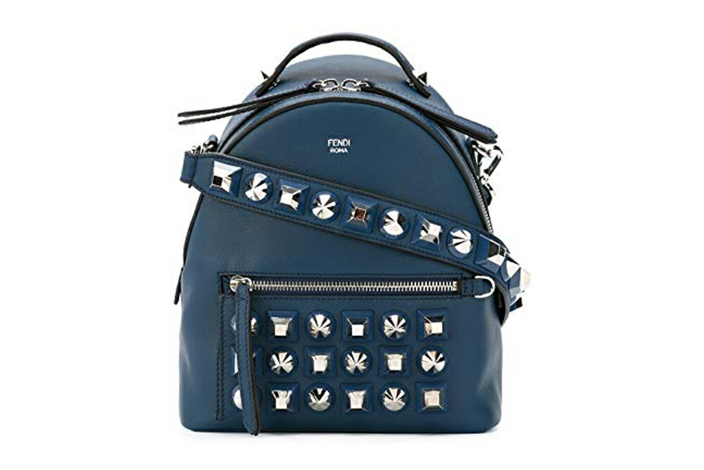 【送料無料】 FENDI フェンディ WOMEN'S STUDDED MINI BACKPACK  8BT281SH3F0KR1
