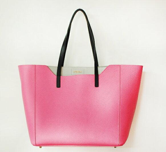 フルラ バッグ 人気 FURLA 798095 ピンク pink バッグ 本革 レザー トートバッグ FANTASIA S TOTE