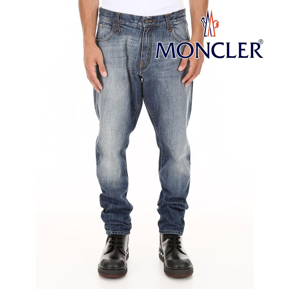 モンクレール MONCLER デニムジーンズ モンクレール×フラグメント 藤原ヒロシ 新品