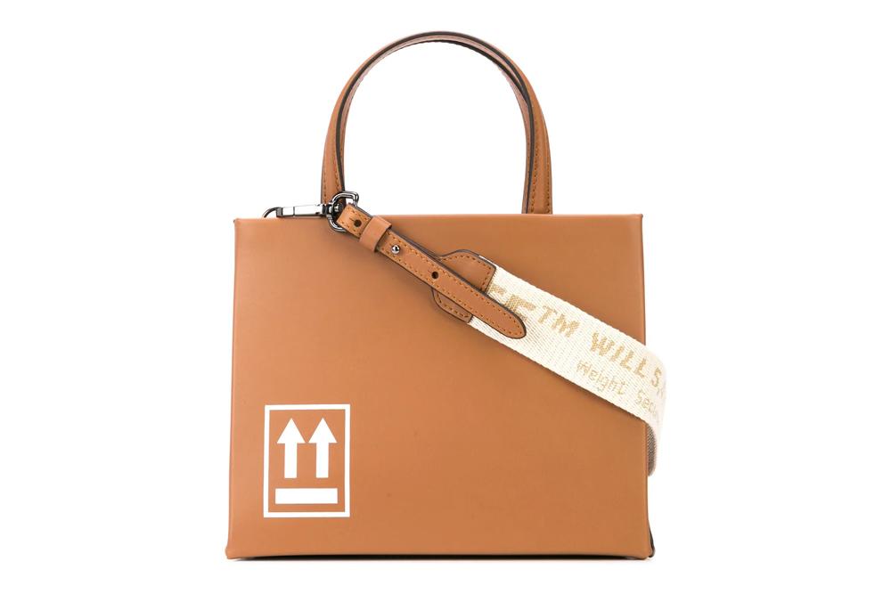 【送料無料】 OFF WHITE Box Mini Bag オフホワイト OWNA059F187220765052