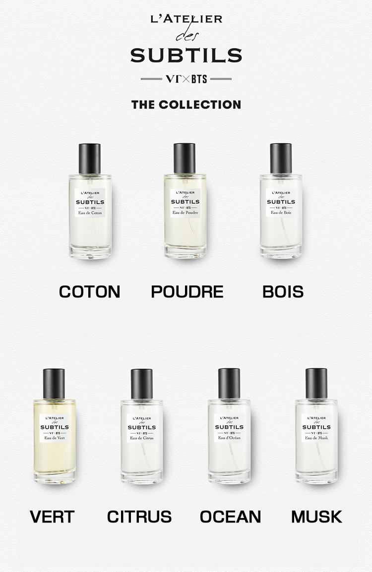 Atelier Du Bois Monaco [new! 2019 vt x bts] l'atelier des subtils perfume bts bulletproof boy  scouts vt cosmetick with photo postcard 1set