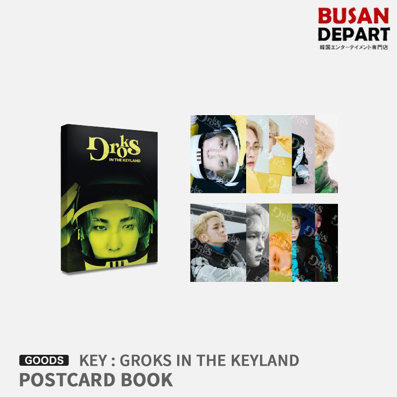 KEY 07 再入荷 予約販売 POSTCARD BOOK 新品 GROKS IN THE 1次予約 KEYLAND 送料無料 公式