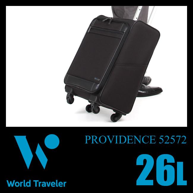 【まもなく終了!カードでP20倍!10/25(木)23:59まで】エース ワールドトラベラー プロビデンス ビジネスキャリーバッグ 26L 出張 軽量 機内持ち込み S ビジネスバッグ World Traveler 52572