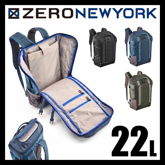 【まもなく終了!会員ランク+D4倍/P3倍/G2倍】【在庫限り】ゼロニューヨーク ミッドタウン バックパック 22L ZERO-NEWYORK 80775