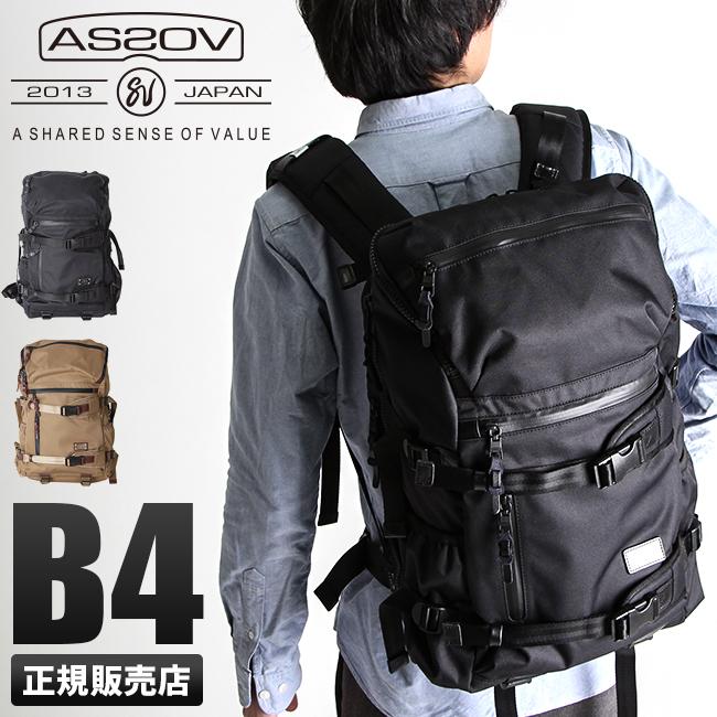 アッソブ AS2OV リュック メンズ 061409 / DOBBY ドビー リュックサック バックパック バッグ 大容量 ブランド ブラック