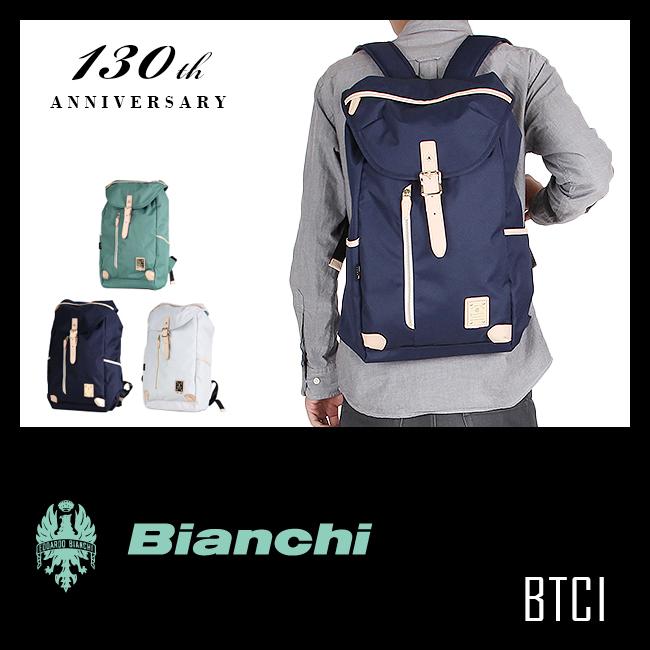 【緊急開催!カードでP14倍!10/20(土)0:00から!】ビアンキ リュック デイパック リュックサック バックパック 強撥水 日本正規品 Bianchi BTCI-09