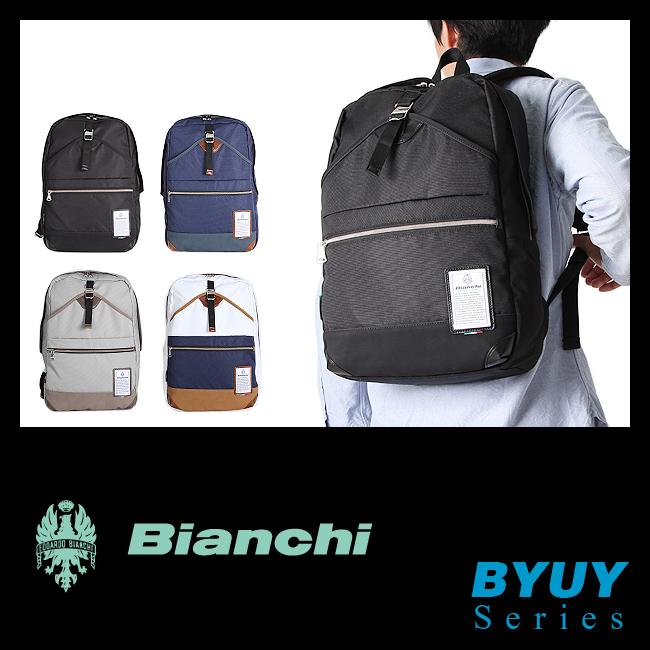 【在庫限り】日本正規品 ビアンキ リュック デイパック リュックサック バッグ A4 撥水 防水 メンズ レディース Bianchi BYUY-03