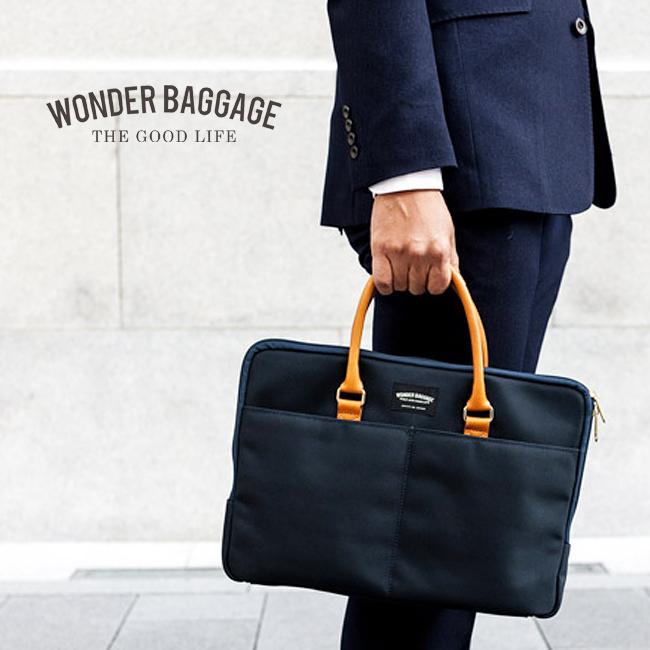 ワンダーバゲージ WONDER BAGGAGE グッドマンズ 1WAYブリーフケース グッドマンズスモールブリーフバッグ メンズ WB-G-016