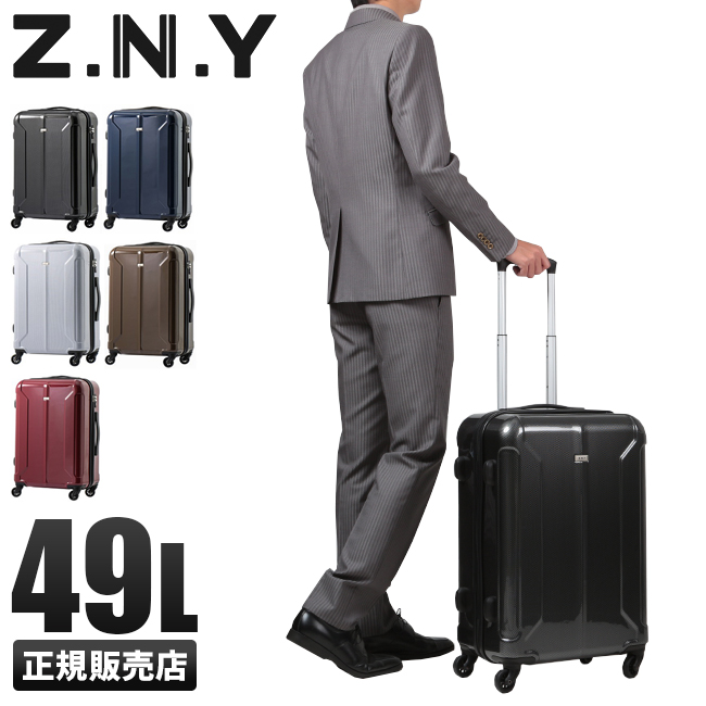 【在庫限り】エース Z.N.Y トロイ スーツケース49L メンズ レディース zny-06402