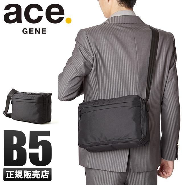 エース ショルダーバッグ 超軽量 B5 ace.GENE 62044 ジーンレーベル ホバーライトクラシック メンズ