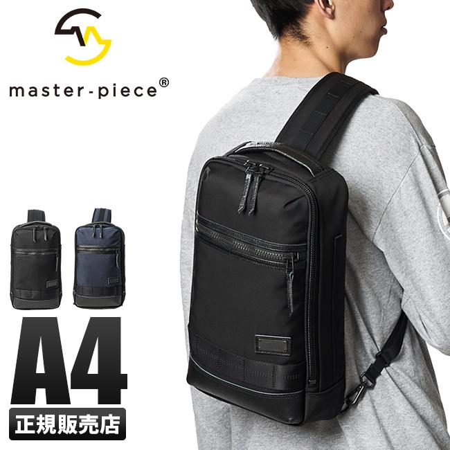 【最大+5倍 9/10限定】マスターピース ボディバッグ ワンショルダーバッグ メンズ 斜めがけ A4 ライズ master-piece 02263