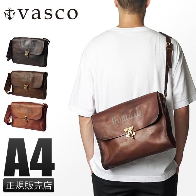 【最大+7倍 9/10限定】ヴァスコ ショルダーバッグ レディース 本革 日本製 斜めがけ 大人 ブランド バスコ VASCO VS-258L