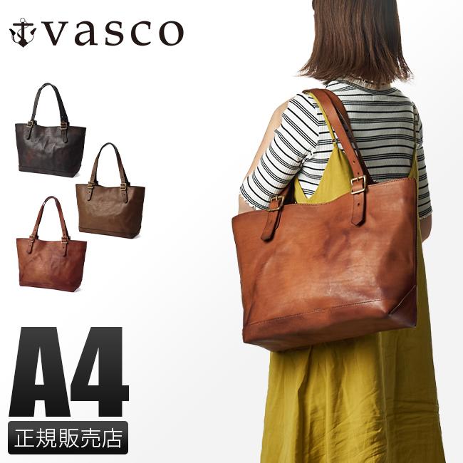 【最大+7倍|9/10限定】ヴァスコ トートバッグ レディース 本革 日本製 A4 ブランド バスコ VASCO VS-263L