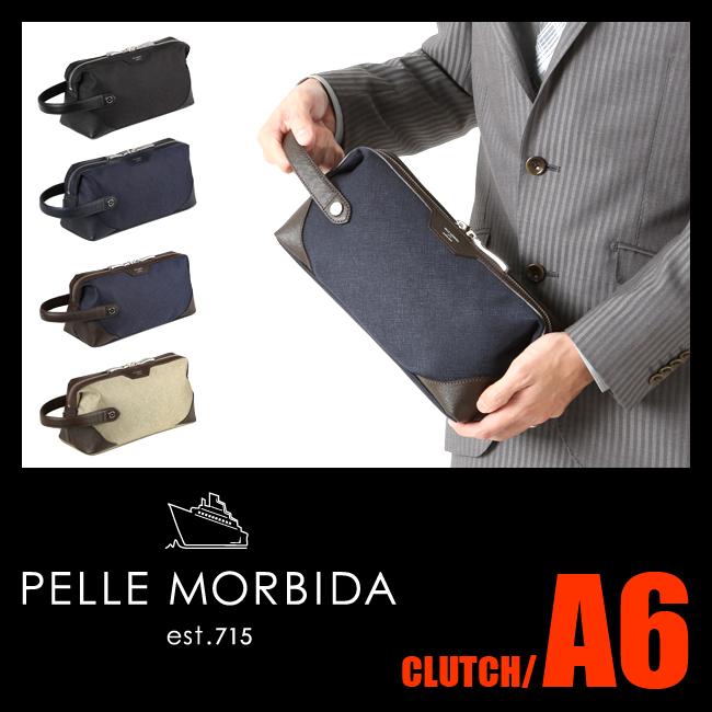 ペッレモルビダ PELLE MORBIDA クラッチバッグ レザー メンズ キャピターノ CAPITANO CA105