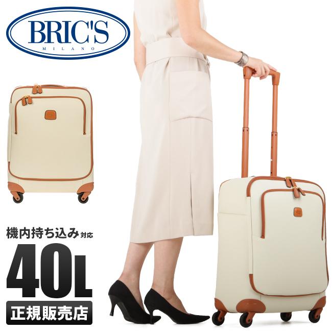 【カードで+6倍|8/5限定】【在庫限り】ブリックス フィレンツェ ソフトスーツケース Mサイズ キャリーバッグ 40L BRIC'S BBJ15250