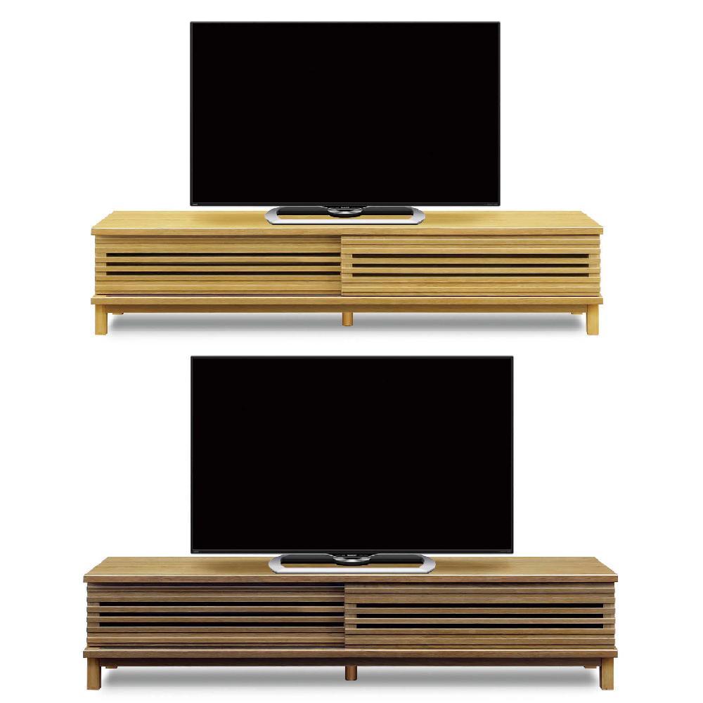 【送料無料】180 テレビボード 完成品 ポルテ ブラウン ナチュラル 収納 46型 52型 42型 37型  家具 通販 日本製【国産家具】
