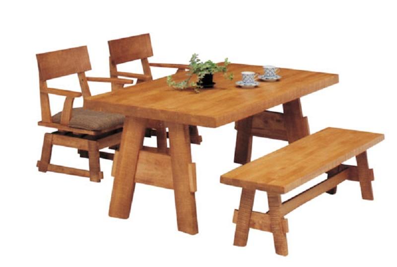 【送料無料】美しい木目のダイニングテーブル 190 選択式 ダイニングテーブル シック 北欧 モダン テーブル   家具 通販