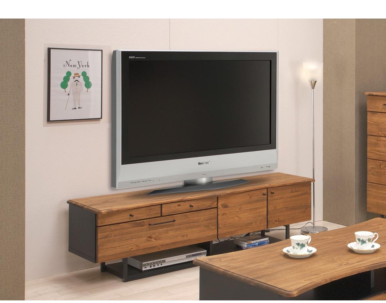 横幅160cm テレビサイズ72型まで対応可能です 送料無料 160 テレビボード ついに入荷 完成品 リベック TV テレビ台 収納 日本製 国産家具 大川 52型 70型 46型 家具 通販 返品不可 60型 42型