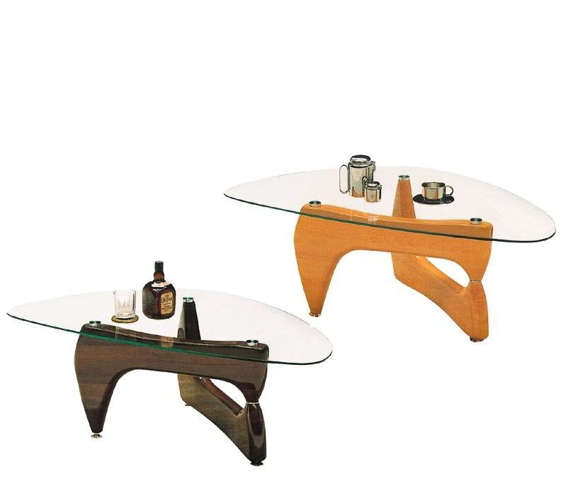 【送料無料】北欧デザイナーズガラステーブル 120 センターテーブル コンパクト ナチュラル ブラウン シック モダン ガラス リビングテーブル ローテーブル  家具 通販