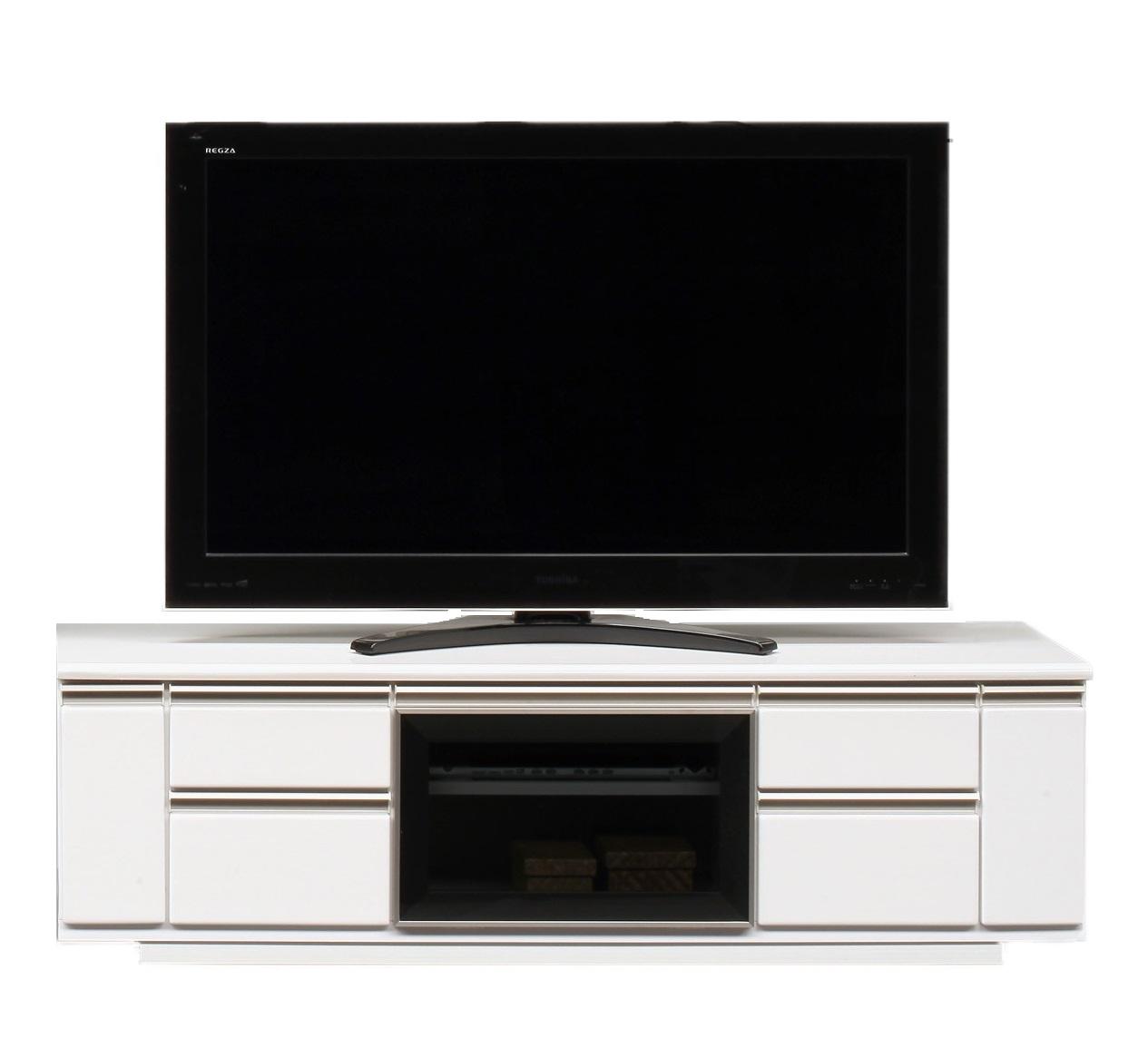 【送料無料】横幅 150 TVボード テレビボード テレビ TV 収納 コンパクト ローボード テレビ台 てれび 北欧 モダン ホワイト 白色 白 68型 54型 大容量 木目 おしゃれ 完成品 引き出し 家具 ロータイプ