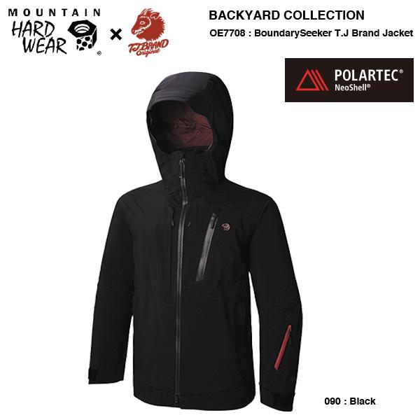 MHW Mountain Hardwear × T.J BRAND collab / OE7708 boundaryseeker T.J BRAND Jacket
