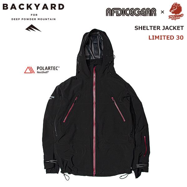 AFDICEGEAR×TJ BRAND「BACKYARD」限定モデル Shelter Jacket