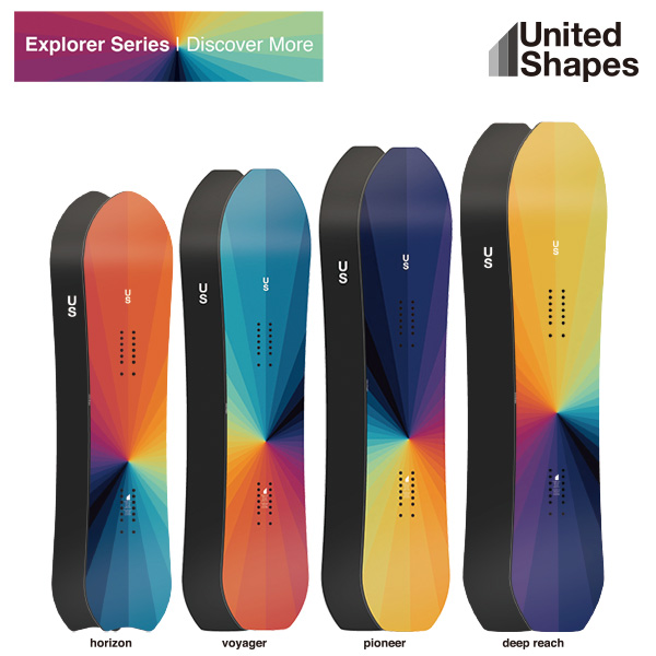 United Shapes Explorer series 2018モデル / ユナイテッドシェイプス