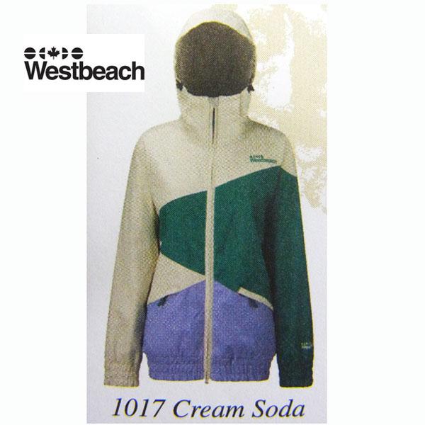Westbeach Womens Crabapple Jacket 6203_1017   Cream Soda