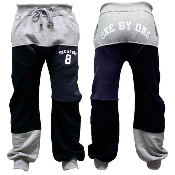 Collage Sweat Pant アッシュ one by one clothing 09Winter