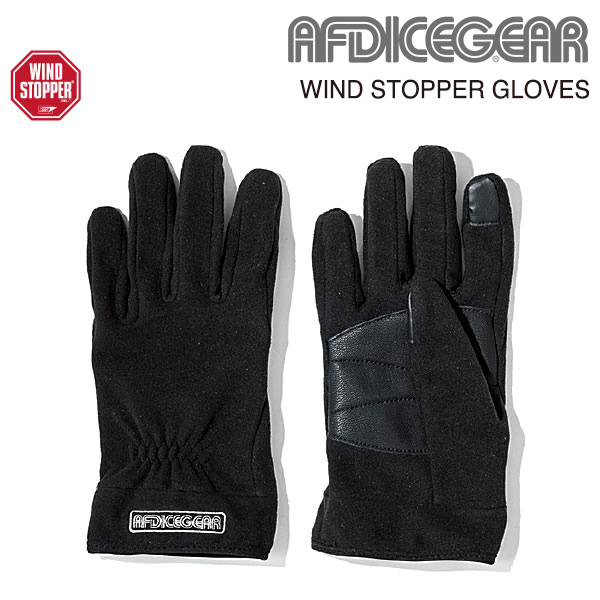 AFDICEGEAR WINDSTOPPER GLOVES ウィンドストッパーグローブ 18/19モデル