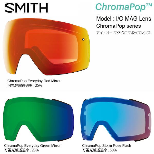 SMITH Lens GOGGLE LENS レンズ(スミス I SMITH/O MAG ChromaPop Lens/ アイ・オー マグ専用クロマポップ レンズ(スミス スペアレンズ), ブランド鑑定団:0cc64a27 --- officewill.xsrv.jp