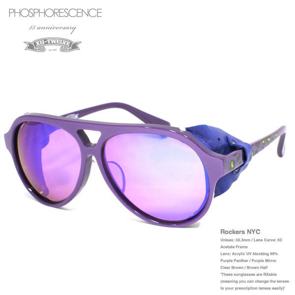 TWELVE 15anniversary ★PHOSPHORESCENCE×TWELVE★ Rockers NYC purple panther 15周年記念コラボモデル