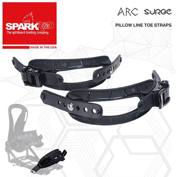 Spark R&D Pillow Line Toe Straps / スパークR&D アップグレードパーツ トューストラップ