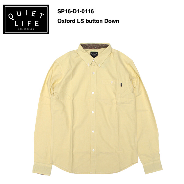 ★THE QUIET LIFE★ Oxford Button Down / クワイエットライフ 2016 SPRING MODEL