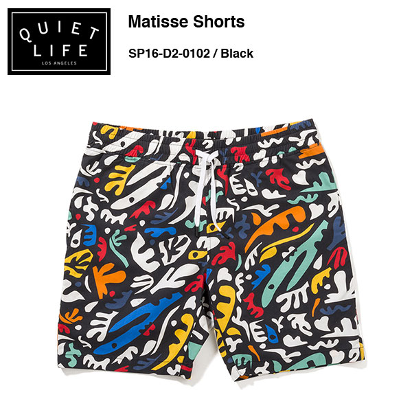 ★THE QUIET LIFE★ Matisse Shorts / クワイエットライフ 2016 SPRING MODEL