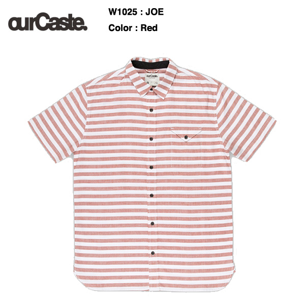 ourCaste JOE short sleeve shirts W1025 / アワーキャスト 半袖シャツ