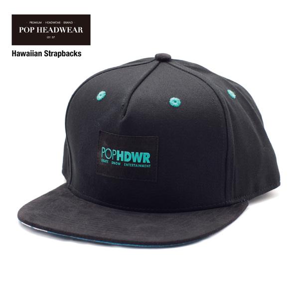 POP HEADWEAR Hawaiian Strapbacks / ポップヘッドウエア SU17 SPOT