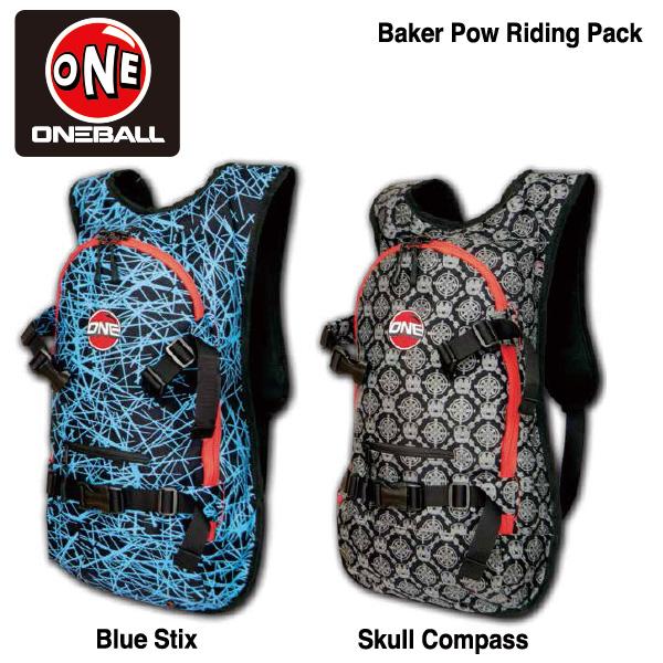 ONEBALL Baker Pow Riding Pack / ワンボール ベイカーパウパック