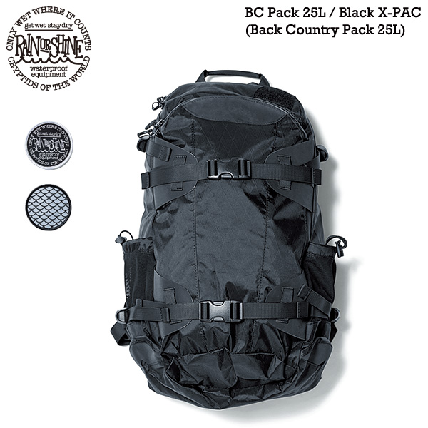 【楽天市場】rain Or Shine Bc Pack 25l Black X Pac バックカントリー