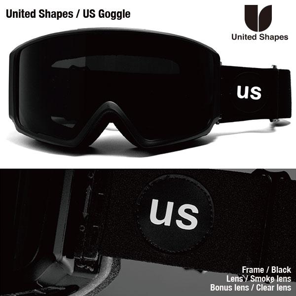 United Shapes US Goggles / ユナイテッドシェイプス 1920モデル リミテッドゴーグル
