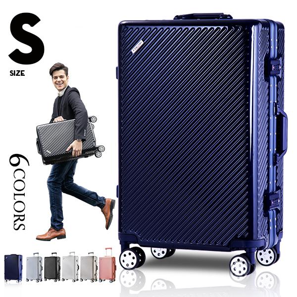 市場ランキングの常連!【送料無料 一年間保証】Sサイズ TSAロック搭載 【10%OFFクーポン!】スーツケース Sサイズ キャリーケース キャリーバッグ 一年間保証 TSAロック搭載 2日 3日 小型 フレーム suitcase TANOBI 6008